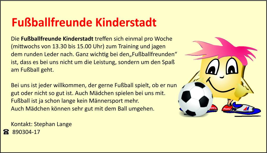 Fußballfreunde Kinderstadt